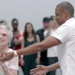 Schon wieder nicht Beyoncé, sondern eine Oma, die mit Jay Z tanzt