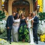 tina-turner-wears-green-to-wedding-2