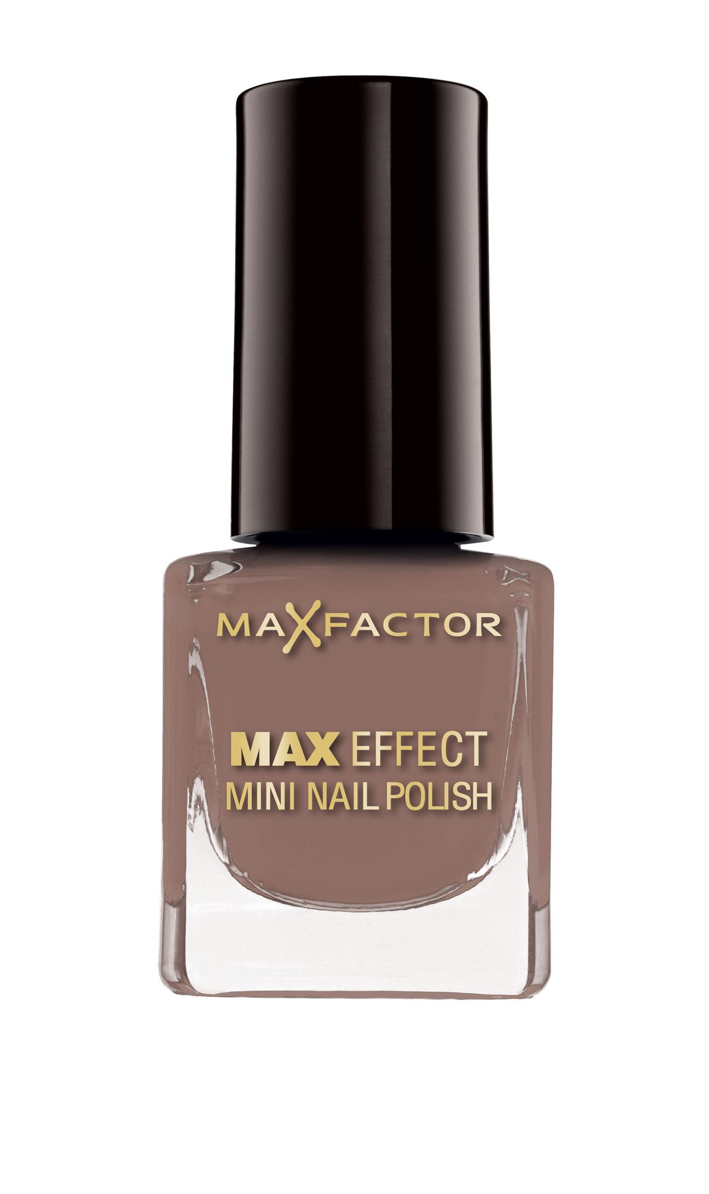 Max Factor Max Effect Mini Nail Polish_165 Hot Coco