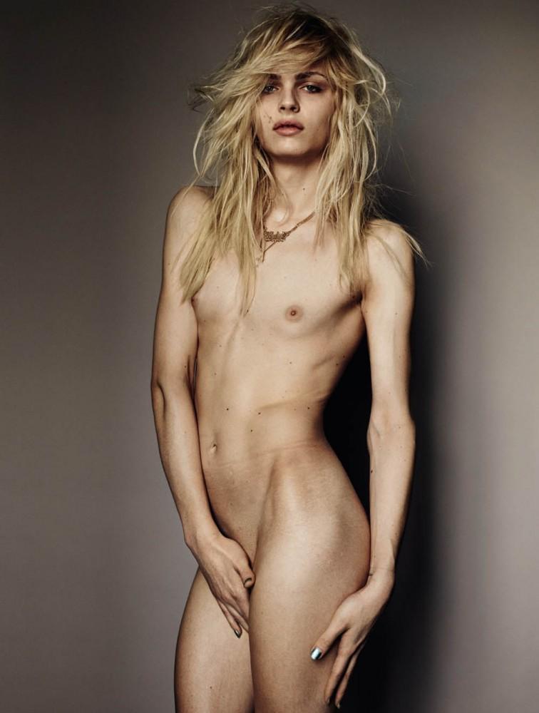 Andrej Pejic ist ein männliches Model, das auch als weibliches Model gebucht wird.