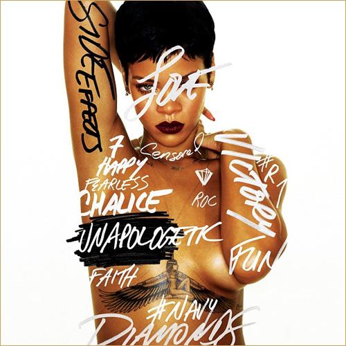 """Rihannas aktuelles Album heiß """"Unapologetic"""" und ist jetzt im Handel erhältlich!  Copyright: Universal Music"""